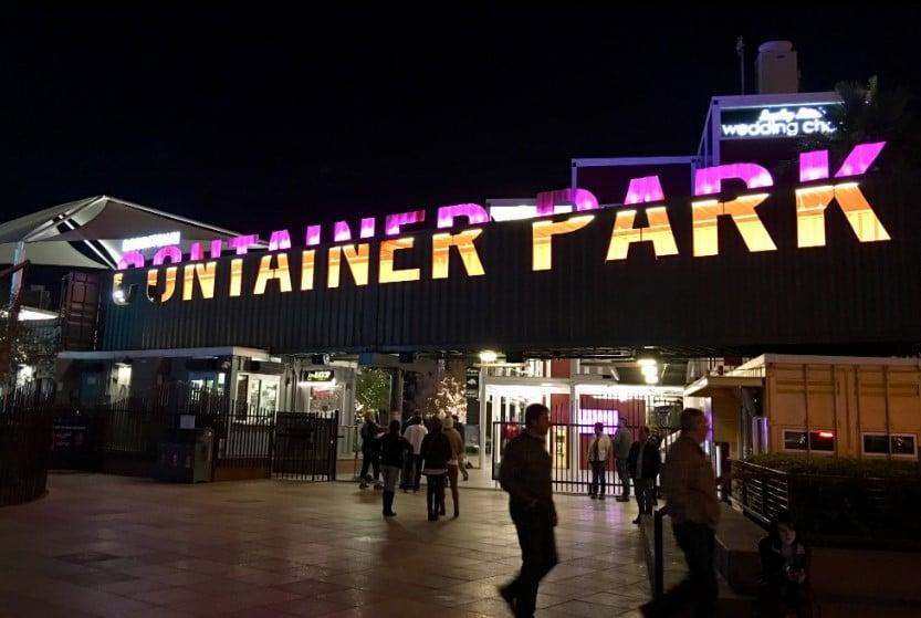 Container park - parque de contenedores