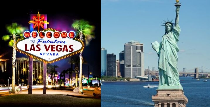 ¿Las Vegas o Nueva York?