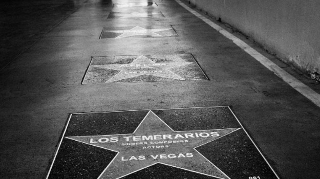 ¿Quiénes están en el paseo de las estrellas en Las Vegas?
